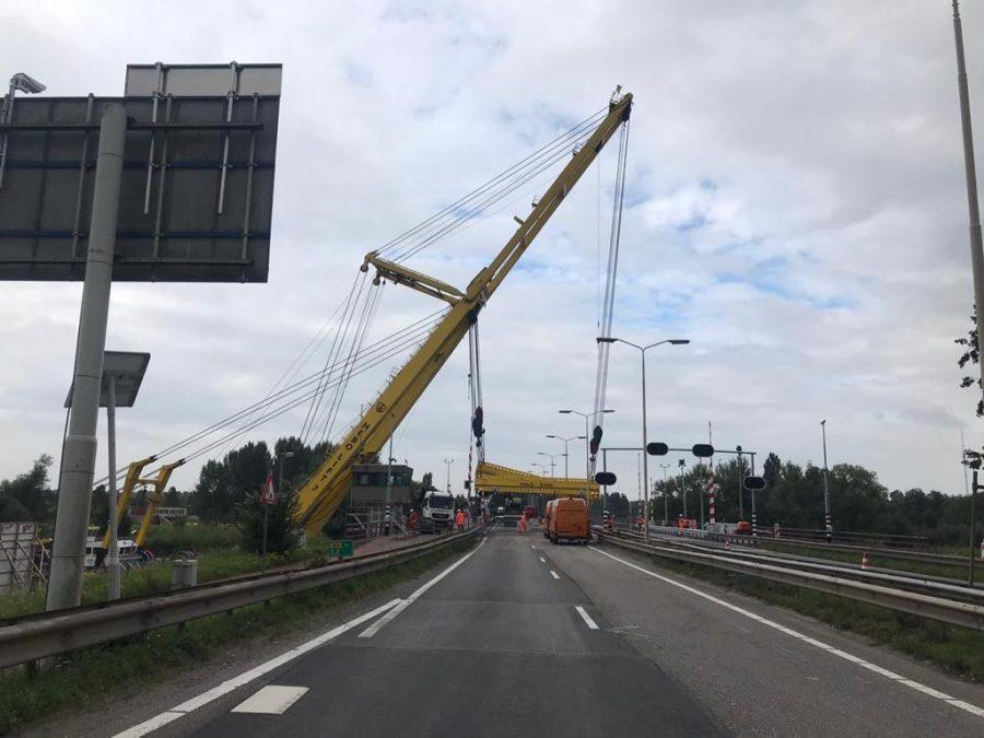 Nannings ingezet tijdens werkzaamheden Wantijbrug